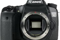 Canon EOS 70D - Vorderansicht Body