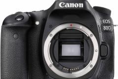 Canon EOS 80D - Vorderansicht Body